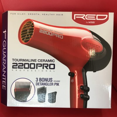 Red 2200 Pro Hair Dryer