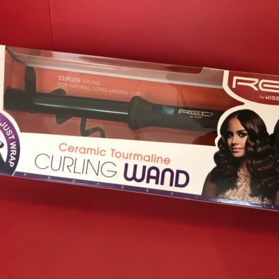 Red Curling Wand 25mm