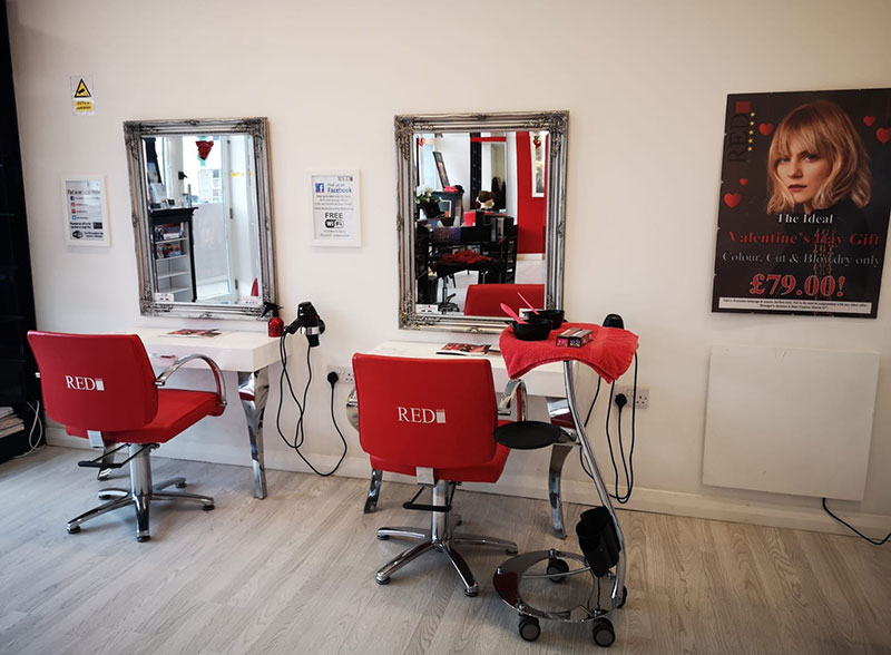 Top Hair Salon in Battle Red Hairdressers