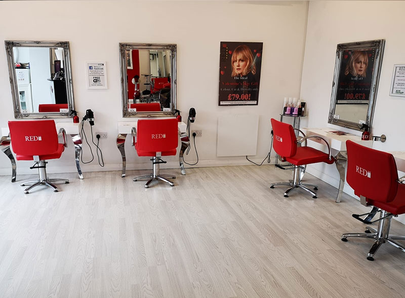 best hairdressers in Battle at Red Hair Salon