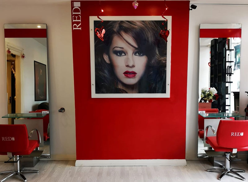 good hairdressing in battle red hair salon east sussex