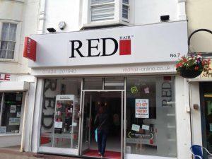 red hair salon in Hastings
