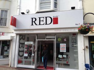 red hair salon in Hastings