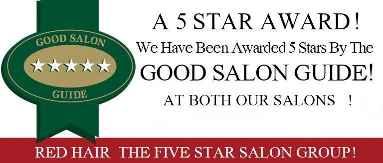 award winning red hair salons in hastings and battle