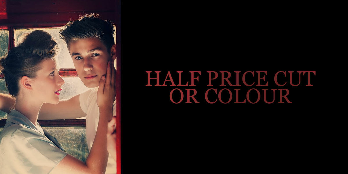 HALF-PRICE-CUT-OR-COLOUR-BANNER AT RED HAIR salons east sussex