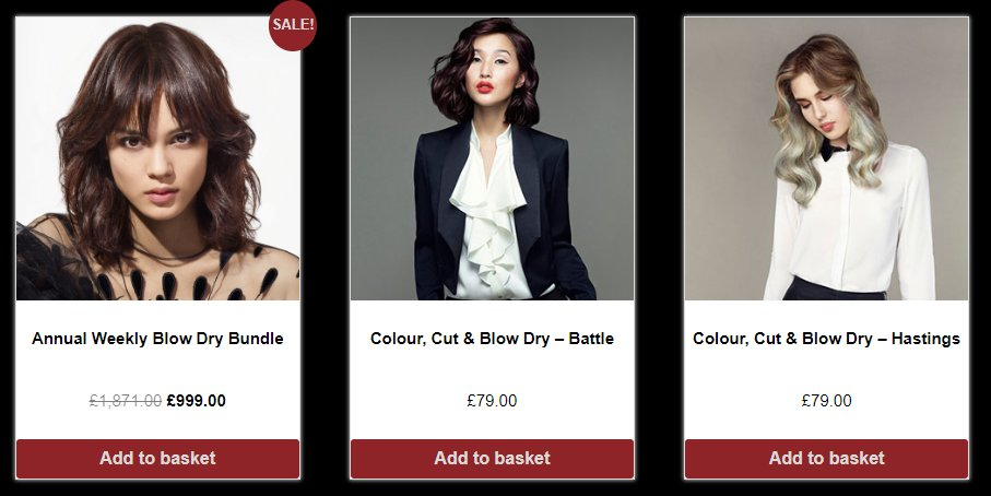 hair discounts, red hair salons, battle and hastings