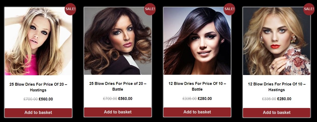hair offers at red hair salons in battle or hastings