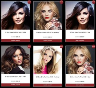 Blow Dry Packages – Save ££££s