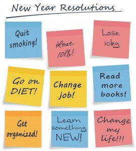 How To Stick To Your New Year Resolutions!