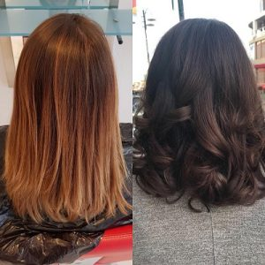 brunette hair colour top autumn trends red hairdressers in rye battle and hastings