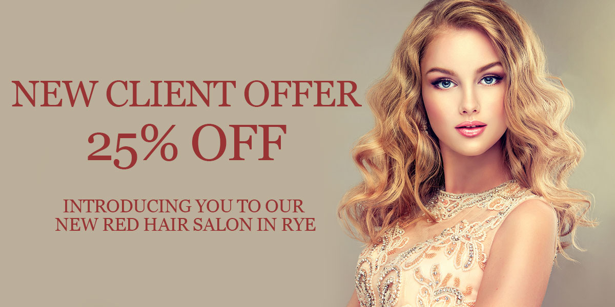 New Client Offer – Red Hair Salon in Rye