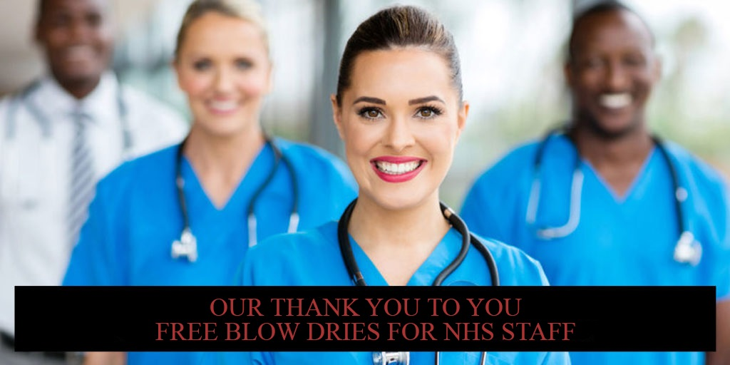 Our Thank You To You FREE Blow Dries For NHS Staff banner 2 1024x512 V2