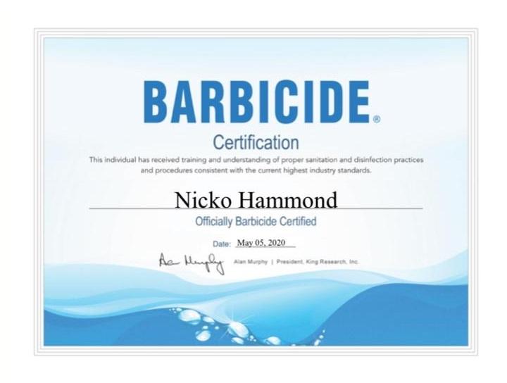 NICKO HAMMOND 1