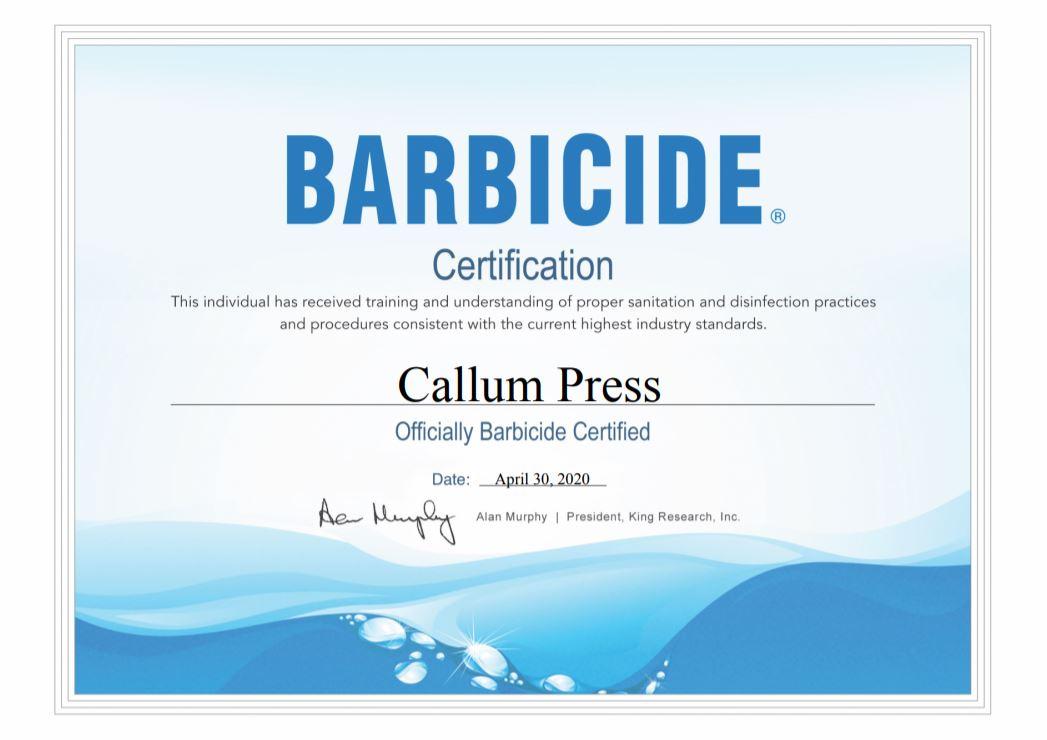 CALLUM PRESS