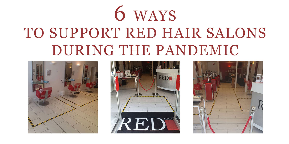 6 Ways To Support Red Hair Salons During The Pandemic banner