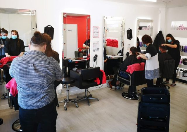 Be a hair model at Red Hair Salon in Rye