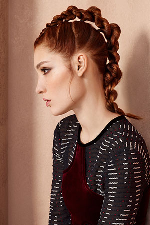 Prom Hairstyles at Red Hair Salons, Battle & Hastings