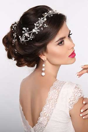 Bridal Hairstyles at Red Hair Salons, Battle & Hastings