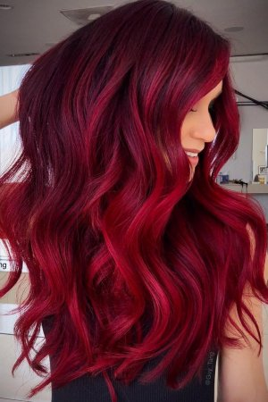 DEEP-RED-HAIR-COLOUR, RED HAIR SALONS IN HASTINGS & BATTLE, EAST SUSSEX