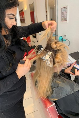 Hairdresser training, HAIRDRESSING ACADEMY, RED HAIR SALONS, RYE, BATTLE AND HASTINGS, EAST SUSSEX